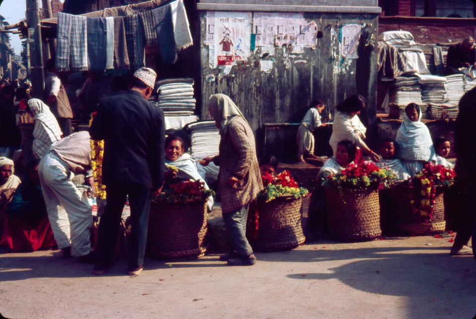 old image of kathmandu