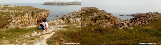 Puntos de interés en la ruta de senderismo La maruca-Faro de Cabo Mayor
