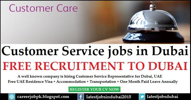 Customer Service jobs in Dubai