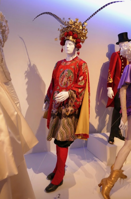 Greatest Showman Chinese dancer costume