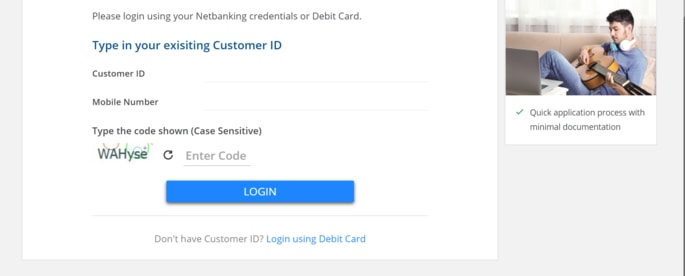 HDFC Bank Millennia Credit Card Online Apply with Net Banking