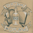 Welcome to Drink and Draw - The Norwegian Division