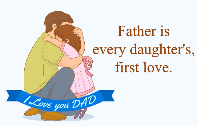 Daughter Fathers day  wishes