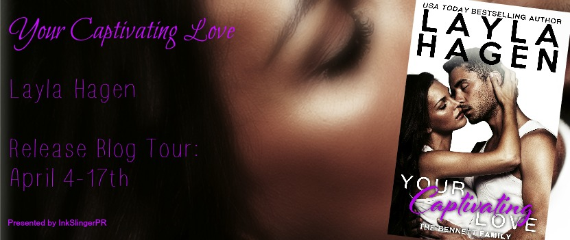Your Captivating Love Blog Tour Banner