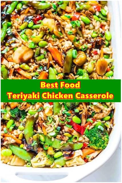 #Teriyaki #Chicken #Casserole