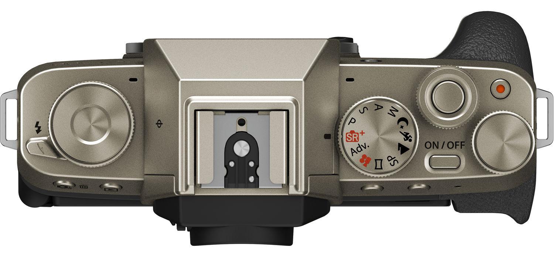Fujifilm X-T200, вид сверху