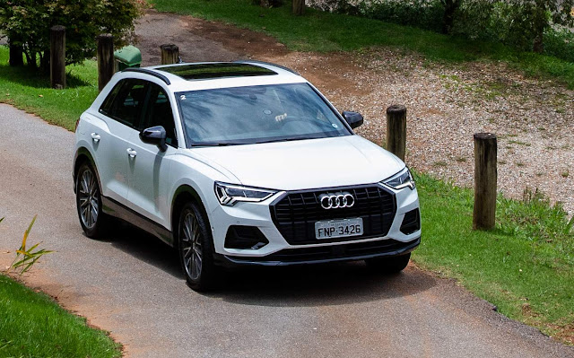 Novo Audi Q3 lidera segmento premium - fevereiro de 2020