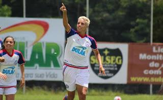 Ubaíra é goleado pelo Bahia no campeonato Baiano Feminio