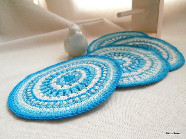 piękne mandale z bawełny