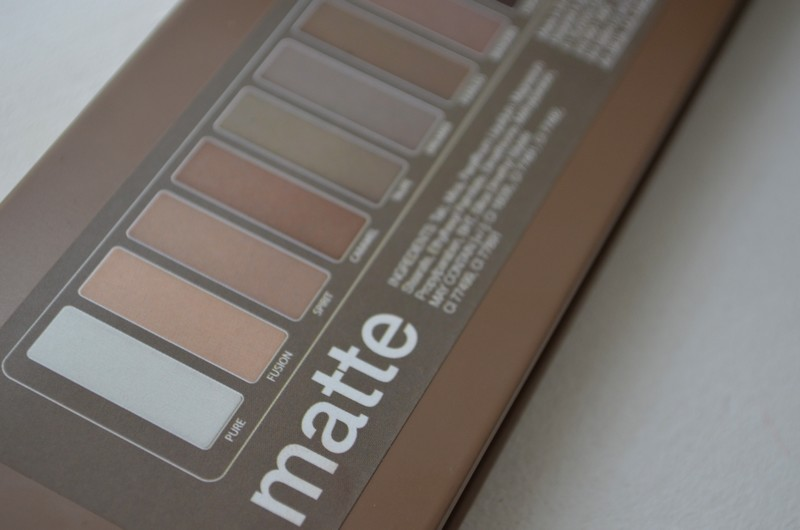 Palette  Matte Finish  BYS Maquillage avis