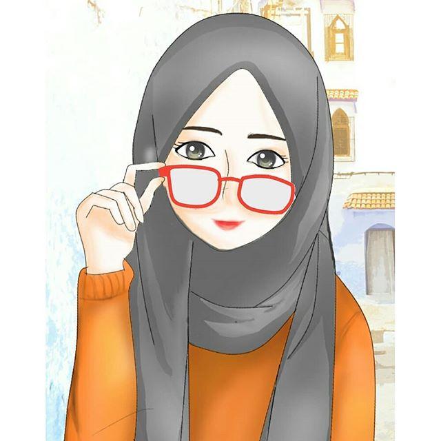 Gambar Gambar Anime Hijabers Collection Images