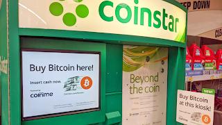Bitcoin vending machines at Walmart