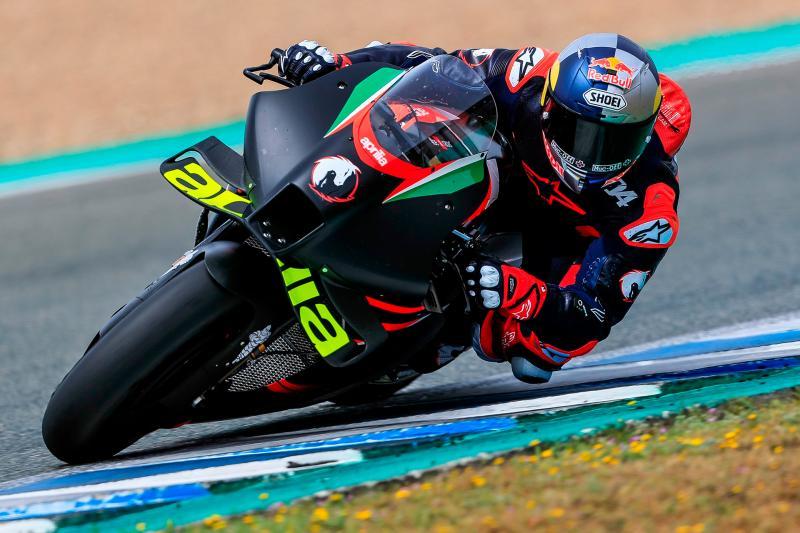 Andrea Dovizioso coba performa Aprilia RS-GP, akan comeback musim depan ?