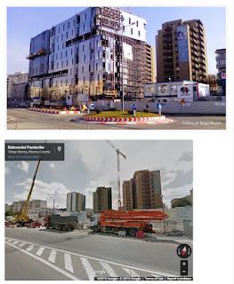 Bulevardul Pandurilor, Tirgu-Mures - Then and Now