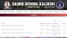Sainik School Kalikiri Recruitment 2021 18 LDC, MTS Posts