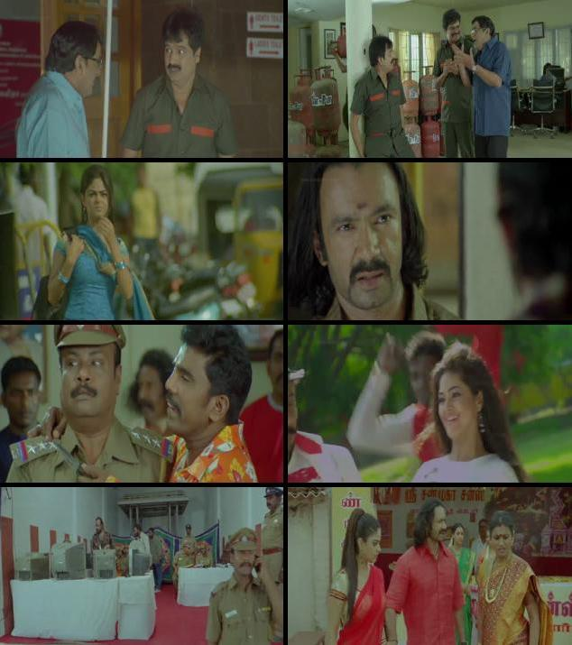 Killadi 2015 Dual Audio Hindi 480p HDRip