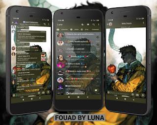Johncons Apple Theme For YOWhatsApp & Fouad WhatsApp By Luna