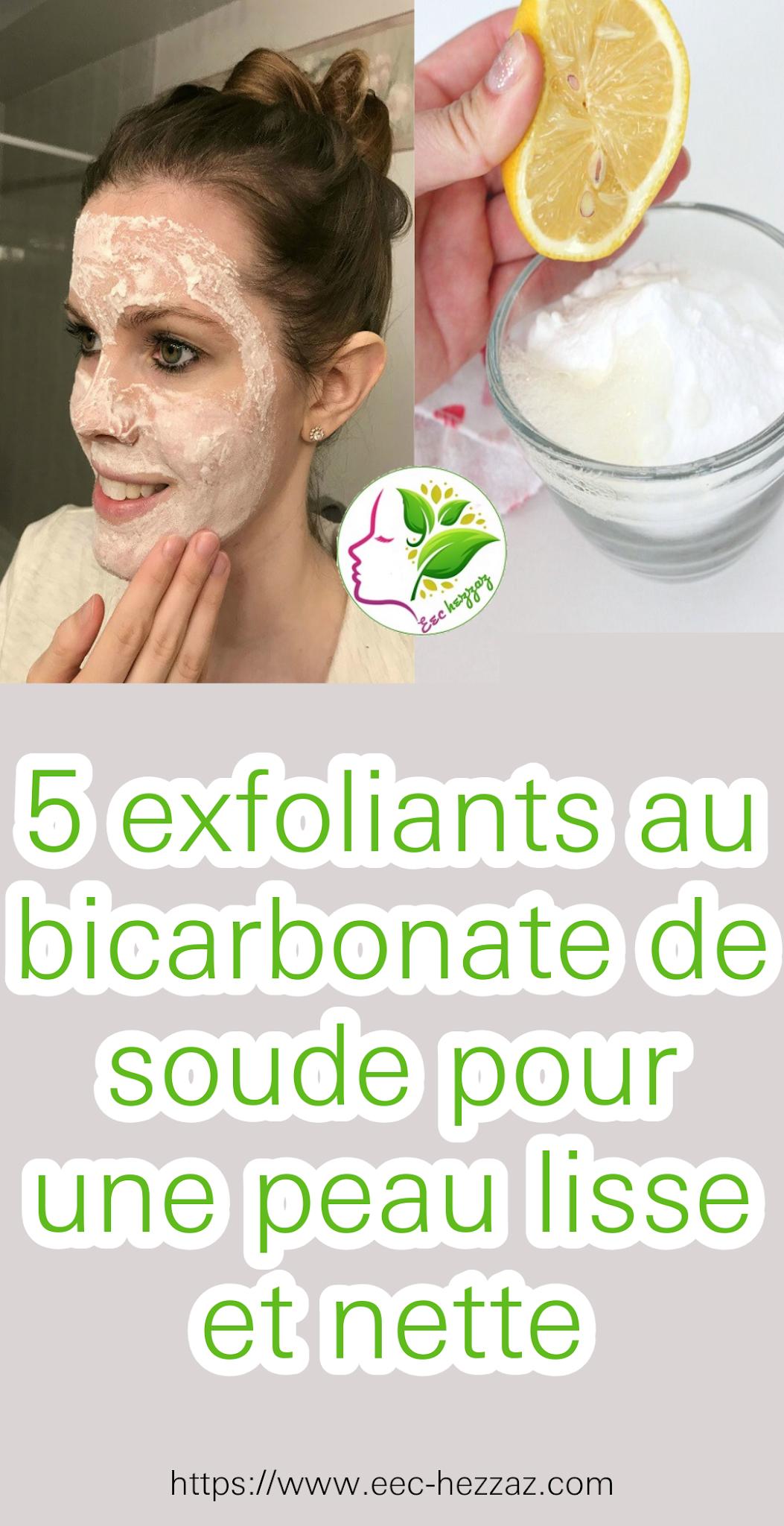 5 exfoliants au bicarbonate de soude pour une peau lisse et nette