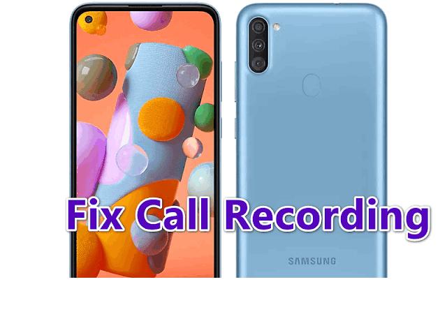 A115F U2 Android 10 Fix Call recording (A115FXXU2AUA3)