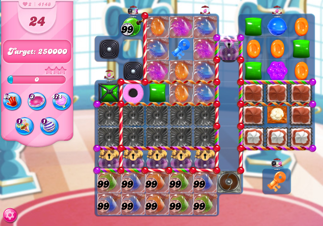 Candy Crush Saga level 4148