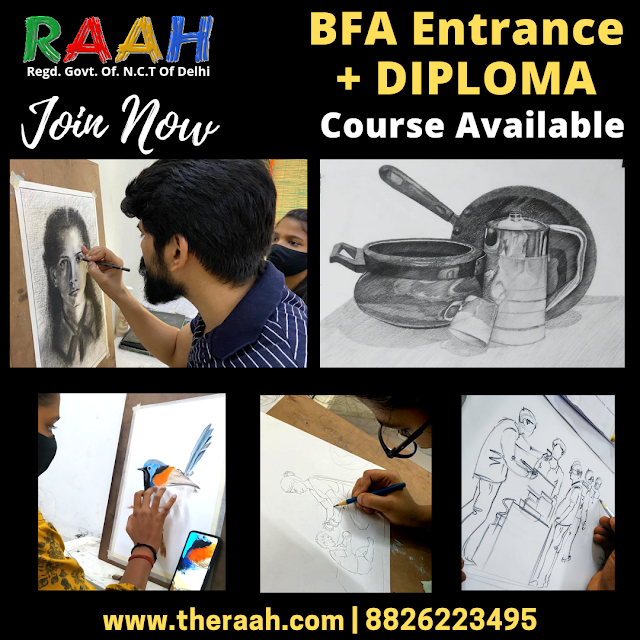 BFA Coaching with Diploma Certificate Courses  Classes Available Basic | Medium | Professional Courses with Diploma Certificate BFA Coaching Classes Online and Offline  Join Us : 88226223495 | info@gmail.com