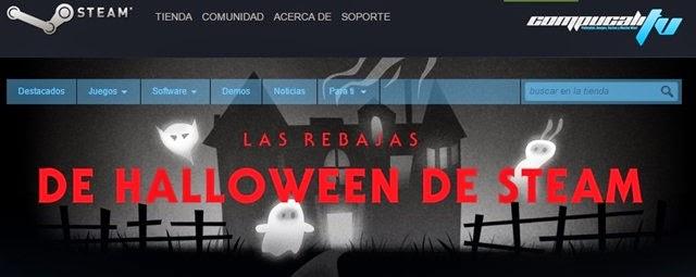 Juegos Baratos en Rebajas de Steam Halloween Sale