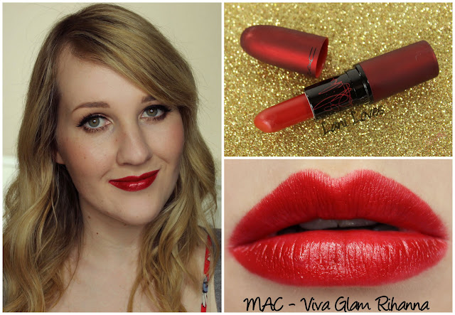 MAC Viva Glam Rihanna lipstick swatch