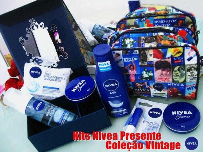 Kits Nivea Presente Coleção Vintage