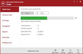 تحميل تطبيق Max Total Security لحماية الهواتف الذكية من الفيروسات الضارة