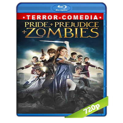 Orgullo, Prejuicio Y Zombies (2016) BRRip 720p Audio Trial Latino-Castellano-Ingles 5.1