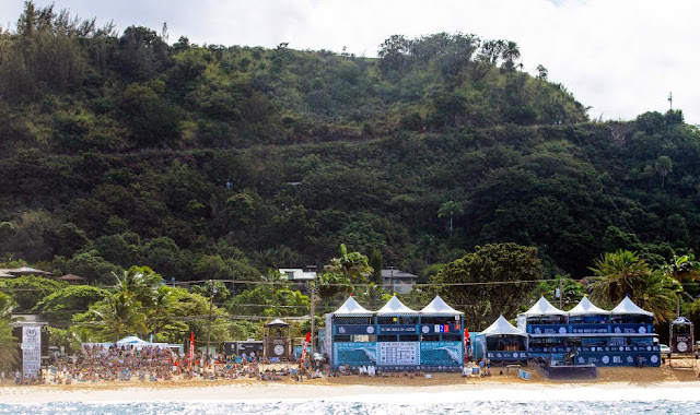 14 Vans World Cup of Sufing 2014 Beach Scene Foto ASP