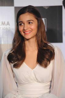 Alia Bhatt looks super cute in a lovely pale White Dress