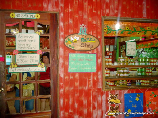 shop in Bee Farm Panglao, Bohol