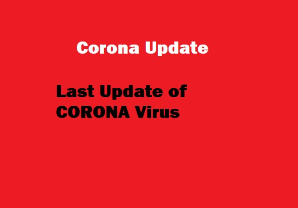 Last Update of Corona Virus