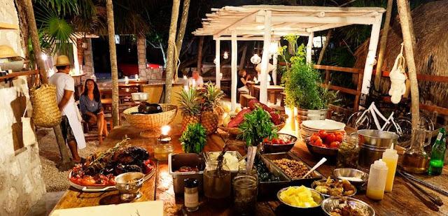 Restaurantes na região de Tulum em Cancún