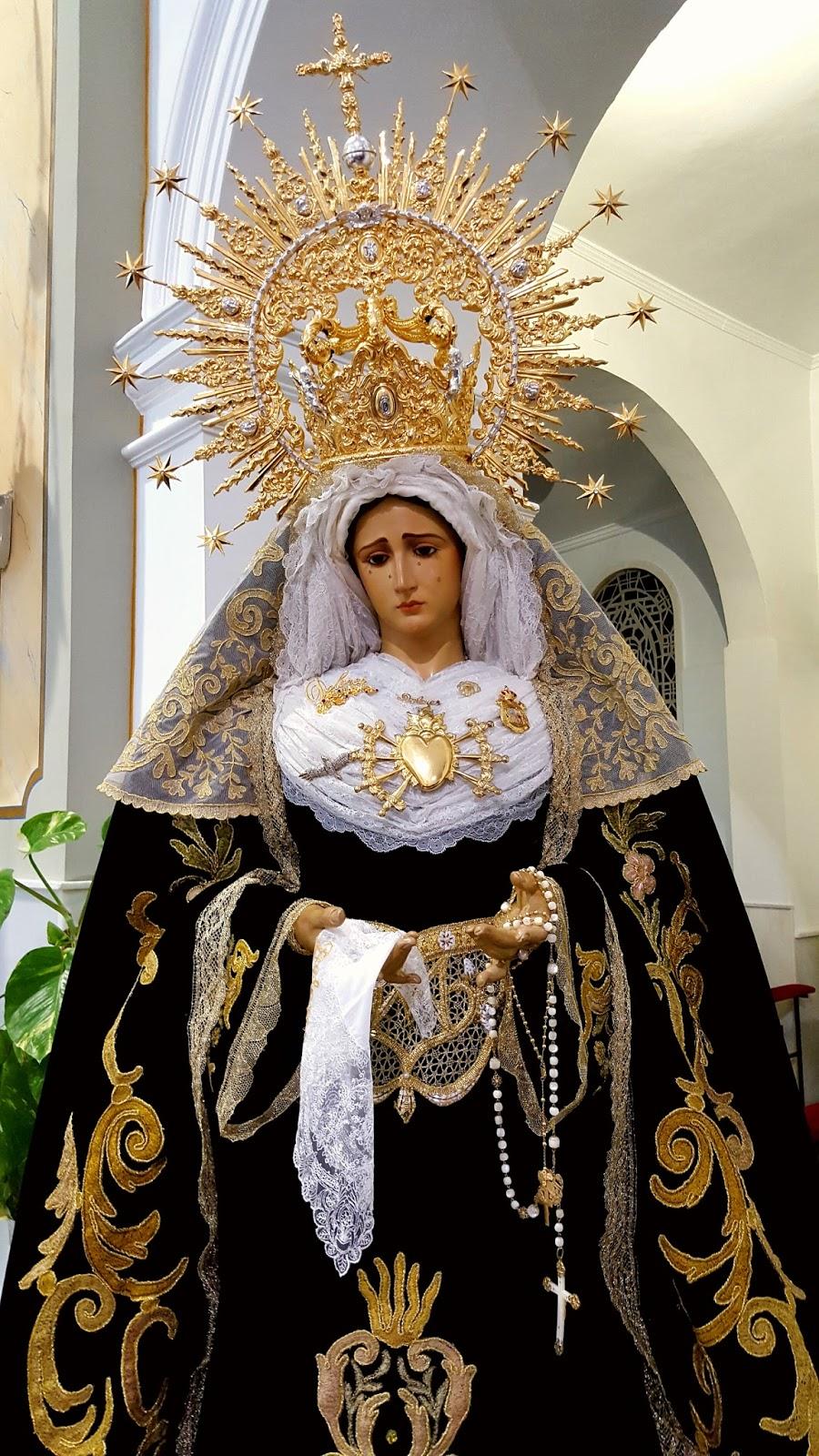Los Berruezo La Virgen De Los Dolores De Garrucha Cumple