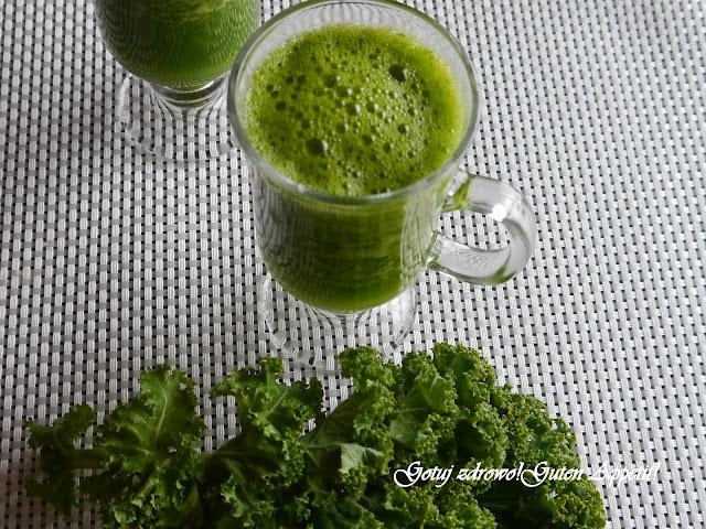 Pij zielone - koktajl z jarmużu i ananasa - Czytaj więcej »