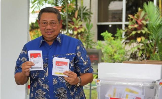 SBY mengaku bersyukur dan lega karena Prabowo akan mengajukan gugatan sengketa pemilu ke MK