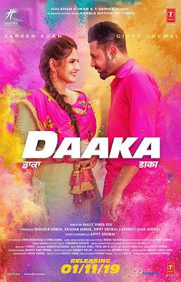 Poster Daaka 2019 Punjabi HD 720p
