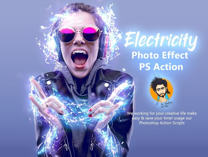 Electricity Photo Effect[Photoshop][Action][5417654]