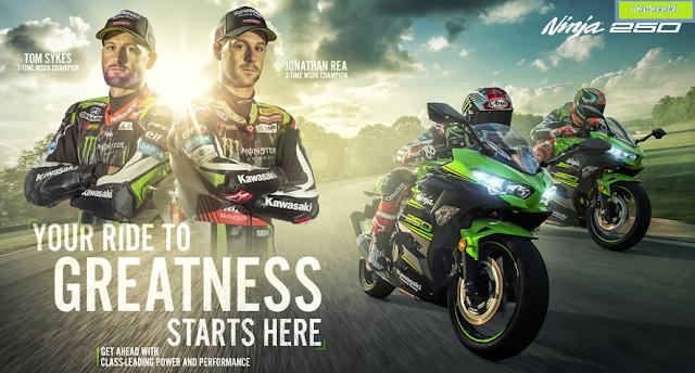 Spesifikasi Kawasaki ninja  250cc terbaru 2018