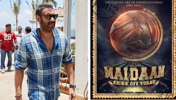 Ajay Devgan new movies maidan (मैदान) release - 2019