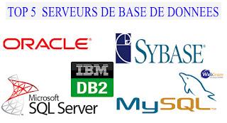 Afrique,Sénégal,Dakar,WEBGRAM,ingénierie logicielle,programmation,développement web,application,informatique:Les serveurs de base de données