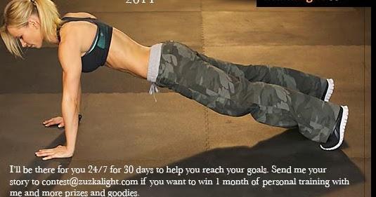 Zuzana or BodyRock Addict: Zuzana Light is having a contest!