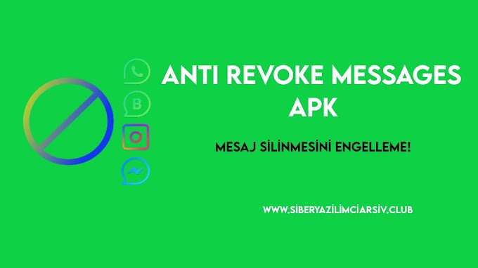 Anti Revoke Messages Apk - Mesaj Kurtarıcı