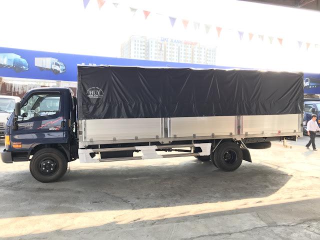 Mighty HD120sl Đô Thành 8 tấn tải thùng dài 6m3