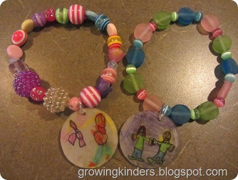 Kids DIY Shrinky Dinks Bracelet