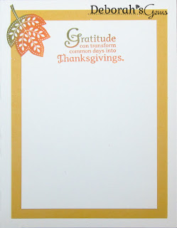Gratitude inside - photo by Deborah Frings - Deborah's Gems