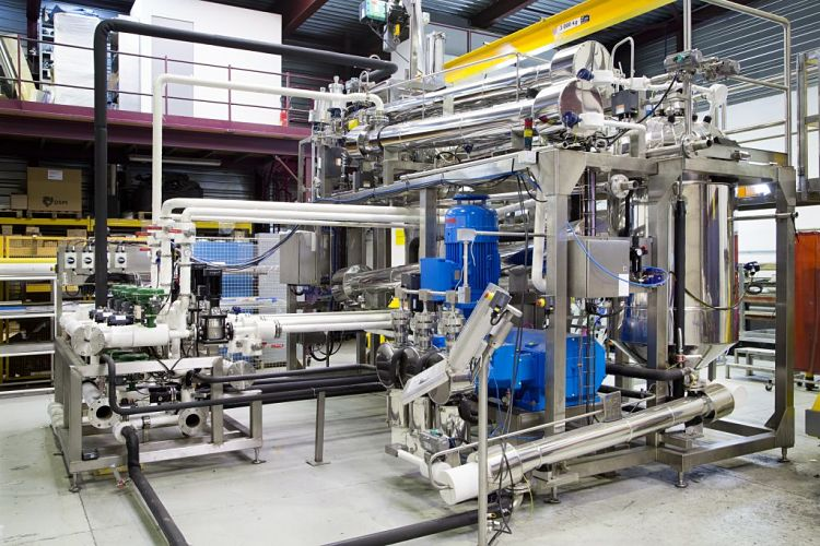 Equipos industriales para extracción líquido-líquido