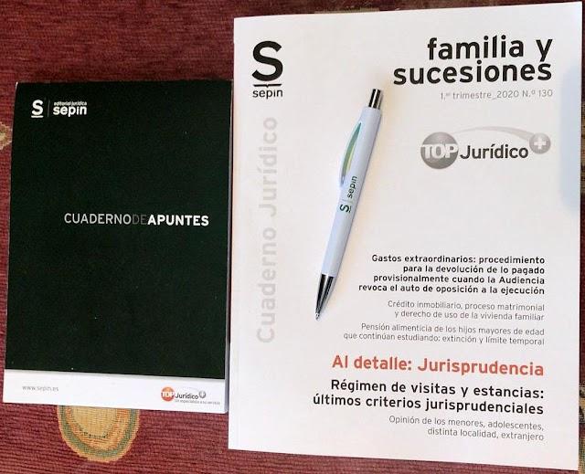 Agradecimiento a Sepín Editorial Jurídica